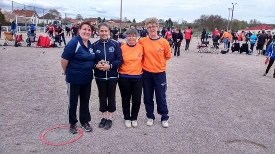 Avieres 14 04 2018 doublettes dames n 1